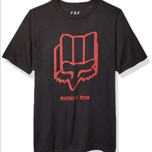 Fox boys youth backlash SS tshirt